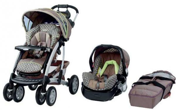 Graco Quattro Tour Deluxe Travel System Jogging Stroller For You